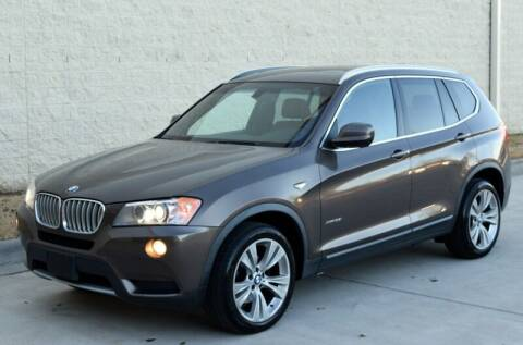 2013 BMW X3 for sale at Raleigh Auto Inc. in Raleigh NC