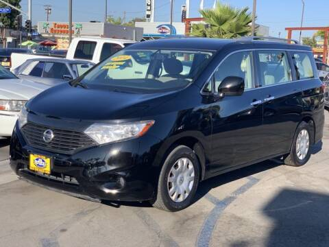 2014 Nissan Quest for sale at Best Car Sales in South Gate CA