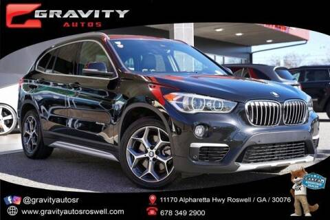 2017 BMW X1 for sale at Gravity Autos Roswell in Roswell GA