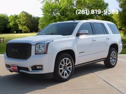 2015 GMC Yukon for sale at BIG STAR HYUNDAI in Houston TX