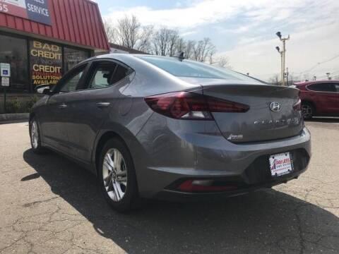 2019 Hyundai Elantra for sale at PAYLESS CAR SALES of South Amboy in South Amboy NJ