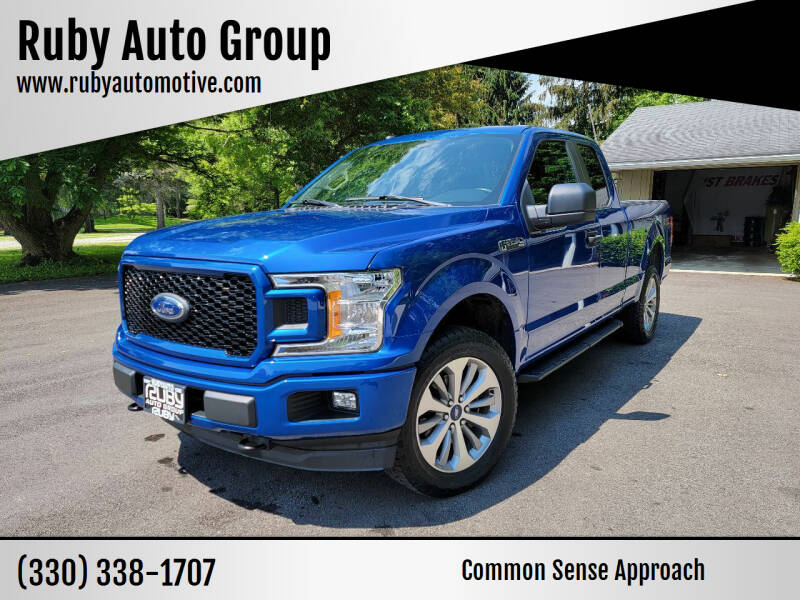 2018 Ford F-150 for sale at Ruby Auto Group in Hudson OH