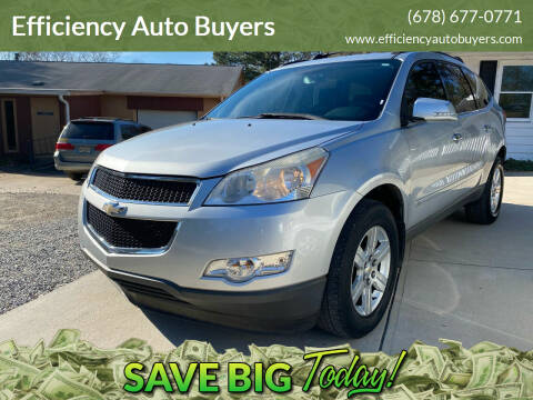 2010 Chevrolet Traverse for sale at Efficiency Auto Buyers in Milton GA