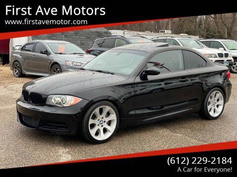 2008 BMW 1 Series for sale at First Ave Motors in Shakopee MN