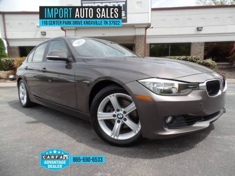 2013 BMW 3 Series for sale at IMPORT AUTO SALES in Knoxville TN