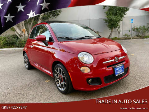 2015 FIAT 500 for sale at Trade In Auto Sales in Van Nuys CA