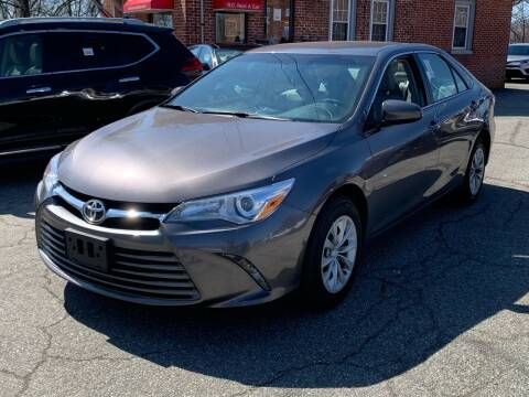 2017 Toyota Camry for sale at Ludlow Auto Sales in Ludlow MA