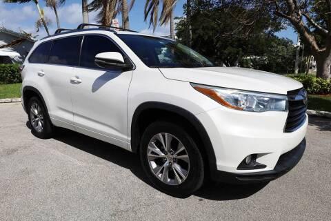 2015 Toyota Highlander for sale at Silva Auto Sales in Pompano Beach FL