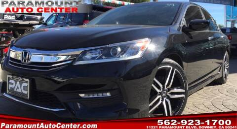 2017 Honda Accord for sale at PARAMOUNT AUTO CENTER in Downey CA