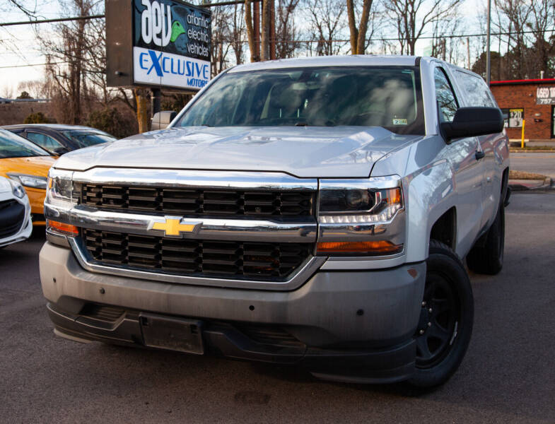 2016 Chevrolet Silverado 1500 for sale at EXCLUSIVE MOTORS in Virginia Beach VA