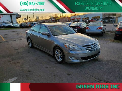 2013 Hyundai Genesis for sale at Green Ride Inc in Nashville TN