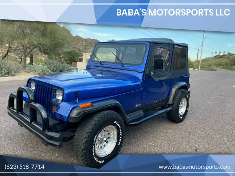 1995 Jeep Wrangler for sale at Baba's Motorsports, LLC in Phoenix AZ
