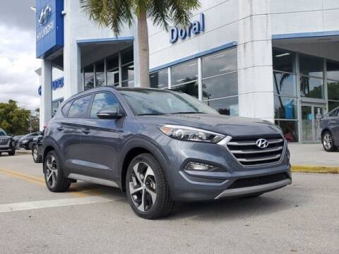 2018 Hyundai Tucson for sale at DORAL HYUNDAI in Doral FL