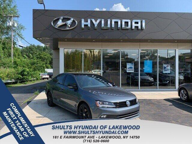 2018 Volkswagen Jetta for sale at Shults Hyundai in Lakewood NY