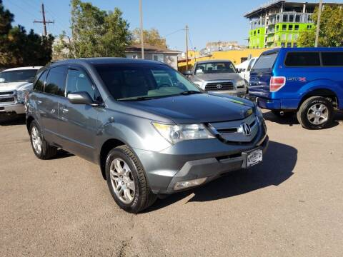 2008 Acura MDX for sale at BERKENKOTTER MOTORS in Brighton CO