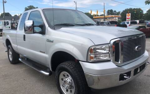 2007 Ford F-250 Super Duty for sale at Creekside Automotive in Lexington NC