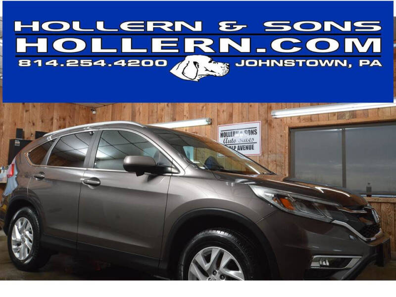 2015 Honda CR-V for sale at Hollern & Sons Auto Sales in Johnstown PA