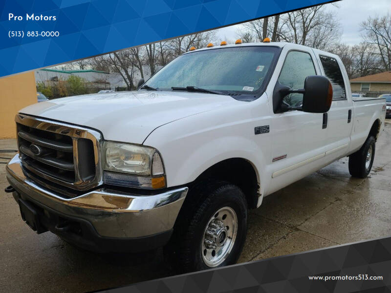 2003 Ford F-350 Super Duty for sale at Pro Motors in Fairfield OH