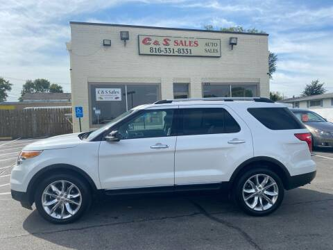 2012 Ford Explorer for sale at C & S SALES in Belton MO