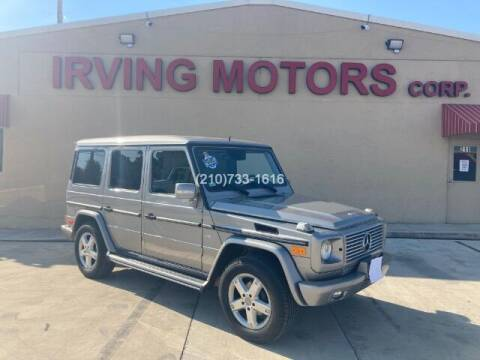 2008 Mercedes-Benz G-Class for sale at Irving Motors Corp in San Antonio TX