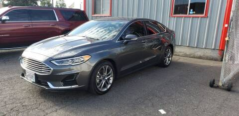 2019 Ford Fusion for sale at Kingz Auto LLC in Portland OR