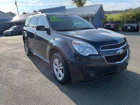 2014 Chevrolet Equinox for sale at HACKETT & SONS LLC in Nelson PA