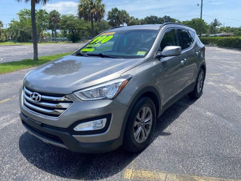 2016 Hyundai Santa Fe Sport for sale at Lamberti Auto Collection in Plantation FL