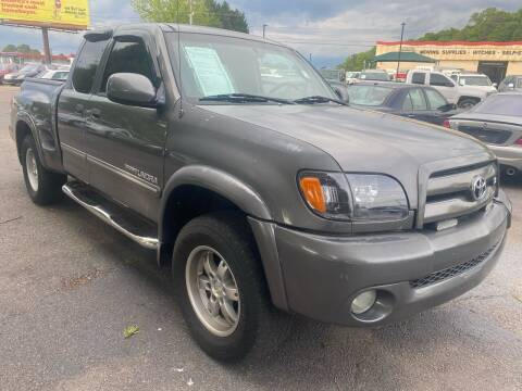 2003 Toyota Tundra for sale at Atlantic Auto Sales in Garner NC