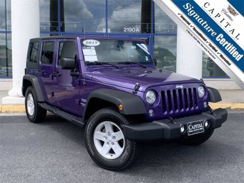 2017 Jeep Wrangler Unlimited for sale at Southern Auto Solutions - Capital Cadillac in Marietta GA