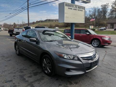 2011 Honda Accord for sale at Route 22 Autos in Zanesville OH