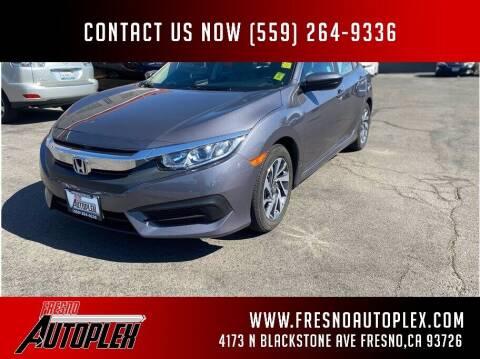 2018 Honda Civic for sale at Fresno Autoplex in Fresno CA