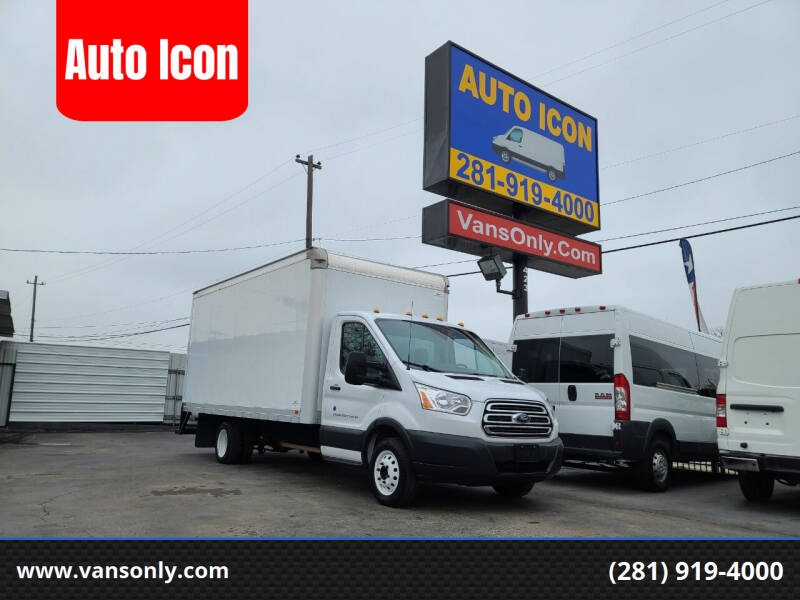 2018 Ford Transit Chassis Cab for sale at Auto Icon in Houston TX