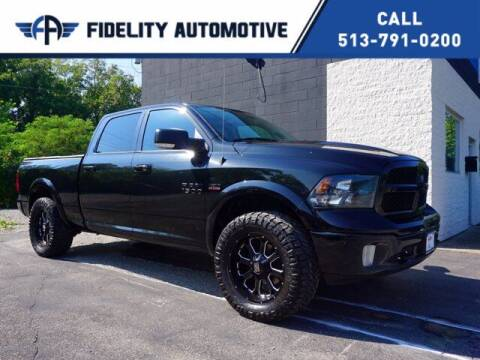 2018 RAM Ram Pickup 1500 for sale at Fidelity Automotive LLC in Cincinnati OH