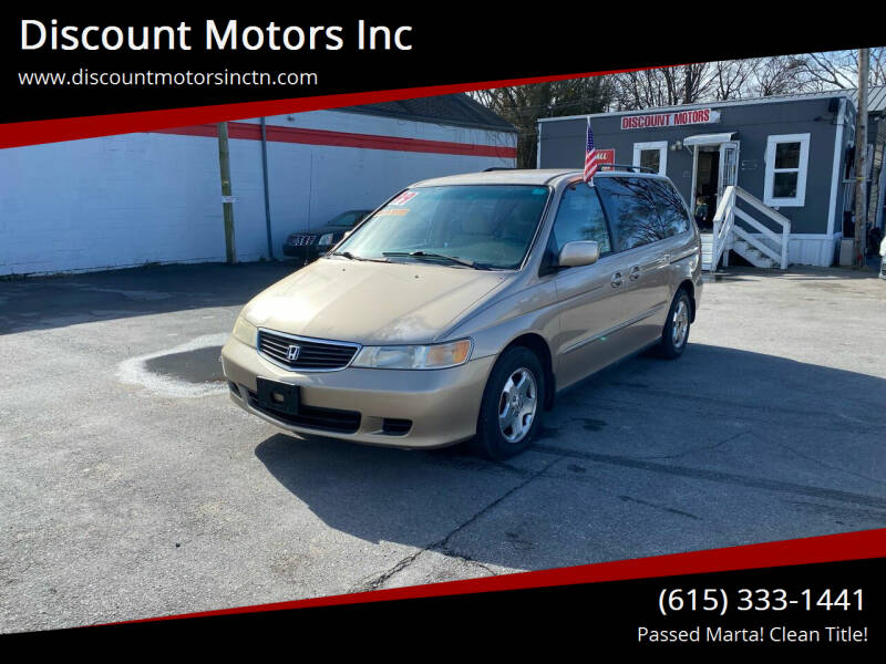 1999 Honda Odyssey for sale at Discount Motors Inc in Nashville TN