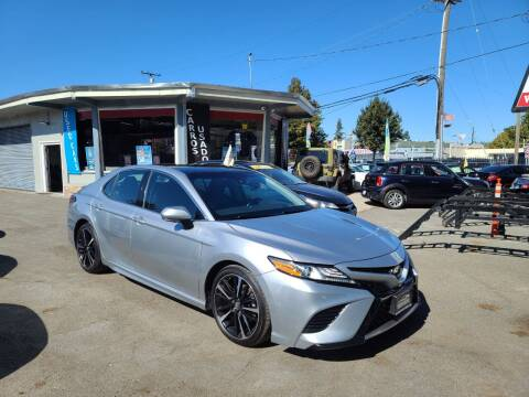 2018 Toyota Camry for sale at Imports Auto Sales & Service in San Leandro CA