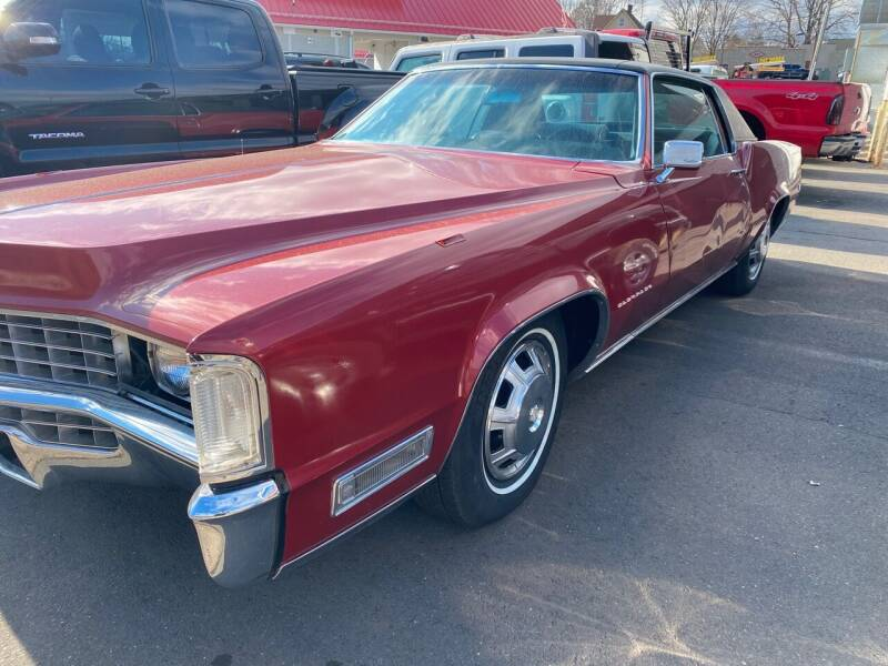 1968 Cadillac Eldorado for sale at Story Brothers Auto in New Britain CT