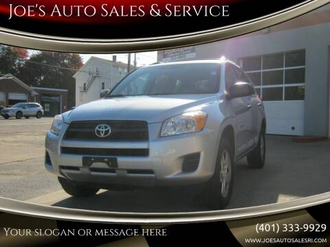 2012 Toyota RAV4 for sale at Joe's Auto Sales & Service in Cumberland RI