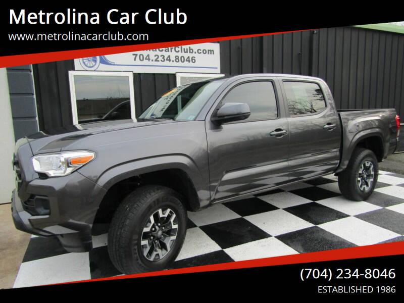 2017 Toyota Tacoma for sale at Metrolina Car Club in Matthews NC