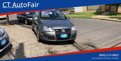 2007 Volkswagen GTI for sale at CT AutoFair in West Hartford CT