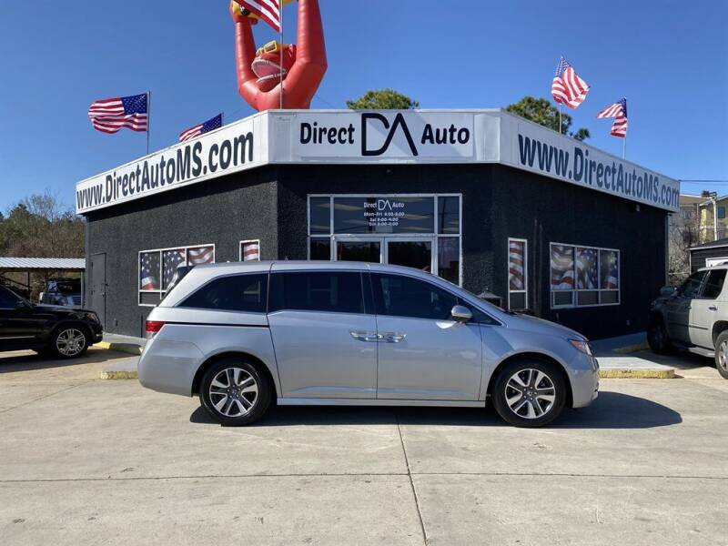 2016 Honda Odyssey for sale at Direct Auto in D'Iberville MS