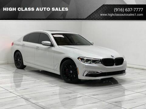 2017 BMW 5 Series for sale at HIGH CLASS AUTO SALES in Rancho Cordova CA
