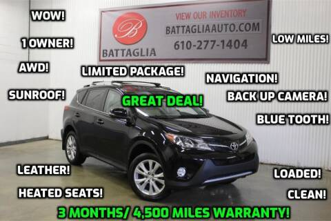 2015 Toyota RAV4 for sale at Battaglia Auto Sales in Plymouth Meeting PA