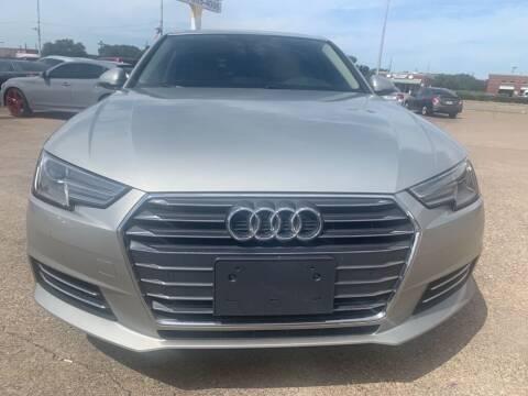 2017 Audi A4 for sale at Car Now Dallas in Dallas TX