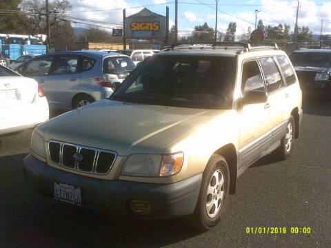 2002 Subaru Forester for sale at Mendocino Auto Auction in Ukiah CA