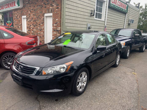 2008 Honda Accord for sale at CAR CORNER RETAIL SALES in Manchester CT