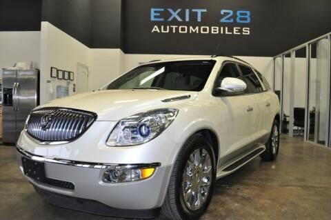 2012 Buick Enclave for sale at Exit 28 Auto Center LLC in Cornelius NC
