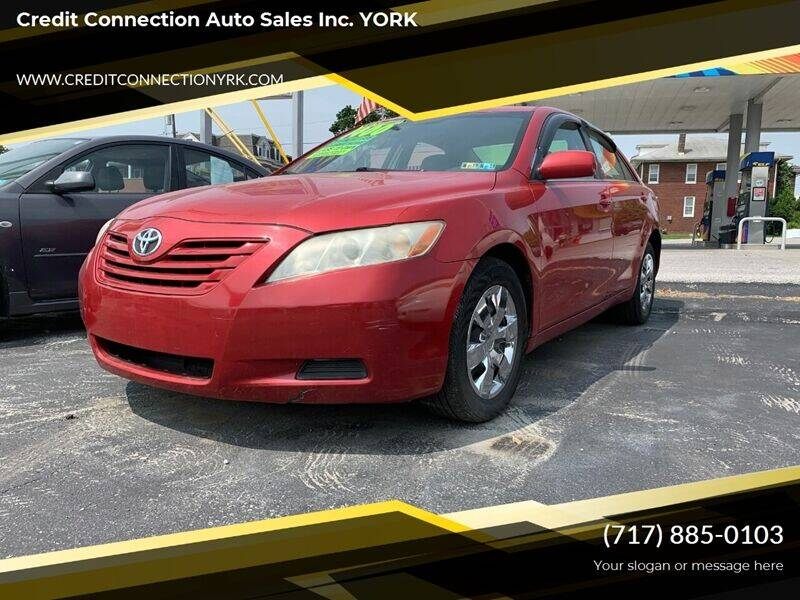 2007 Toyota Camry for sale at Credit Connection Auto Sales Inc. YORK in York PA