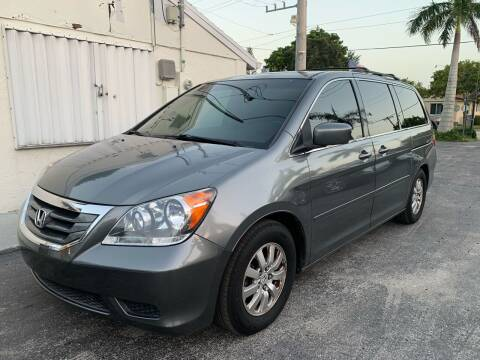 2009 Honda Odyssey for sale at Citywide Auto Group LLC in Pompano Beach FL