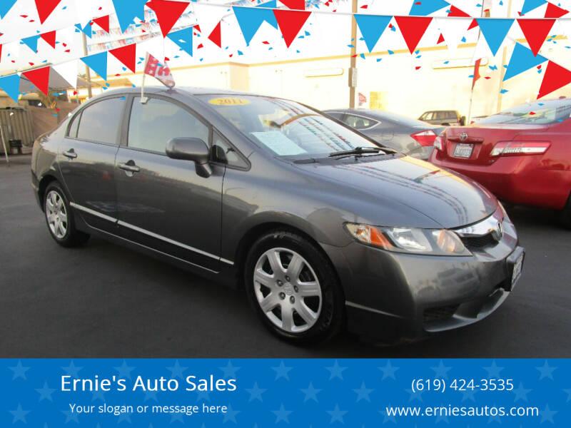 2011 Honda Civic for sale at Ernie's Auto Sales in Chula Vista CA