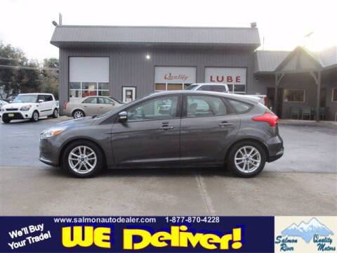2016 Ford Focus for sale at QUALITY MOTORS in Salmon ID